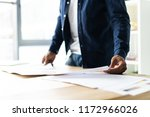 successful african entrepreneur ... | Shutterstock . vector #1172966026