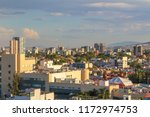 panoramic afternoon view of the ... | Shutterstock . vector #1172974753