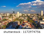 panoramic afternoon view of the ...   Shutterstock . vector #1172974756