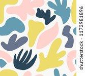 seamless pattern with modern... | Shutterstock .eps vector #1172981896