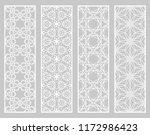 decorative geometric line... | Shutterstock .eps vector #1172986423