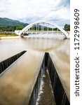 white bridge above mae tha...   Shutterstock . vector #1172998609
