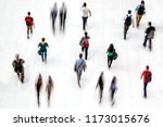 abstract image of people in the ...   Shutterstock . vector #1173015676