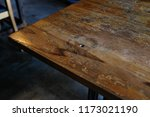 a rustic vintage old weathered... | Shutterstock . vector #1173021190
