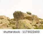 chamonix valley rock formation... | Shutterstock . vector #1173022603