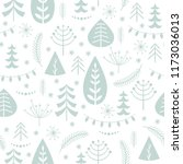 seamless pattern seasons...   Shutterstock .eps vector #1173036013