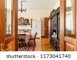 real photo of a spacious ...   Shutterstock . vector #1173041740