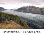 skaftafell  vatnajokull glacier ... | Shutterstock . vector #1173061756