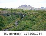 skaftafell national park... | Shutterstock . vector #1173061759