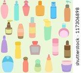 vector of  bottle  perfume ...   Shutterstock .eps vector #117306898