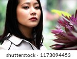 close up  of a young ... | Shutterstock . vector #1173094453