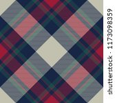 tartan check plaid diagonal... | Shutterstock . vector #1173098359