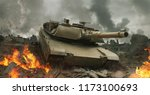 3d Rendering Of A Tank In The...