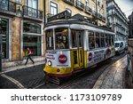 lisbon  portugal  05.17.2018 ... | Shutterstock . vector #1173109789
