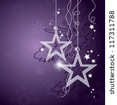 christmas background. vector... | Shutterstock .eps vector #117311788