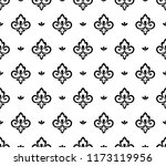 flower geometric pattern.... | Shutterstock .eps vector #1173119956