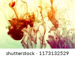 abstract background ink and... | Shutterstock . vector #1173132529