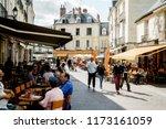 tours  france  14 august 2018 ... | Shutterstock . vector #1173161059