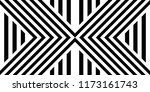 seamless pattern with striped... | Shutterstock .eps vector #1173161743