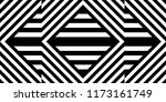 seamless pattern with striped... | Shutterstock .eps vector #1173161749
