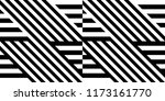 seamless pattern with striped... | Shutterstock .eps vector #1173161770