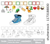 educational puzzle game for... | Shutterstock .eps vector #1173188830