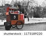 Street Drinks And Coffee Cart...