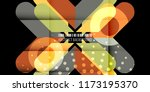abstract colorful background... | Shutterstock .eps vector #1173195370
