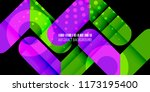 abstract colorful background... | Shutterstock .eps vector #1173195400