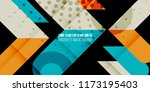 abstract colorful background... | Shutterstock .eps vector #1173195403