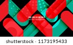 abstract colorful background... | Shutterstock .eps vector #1173195433