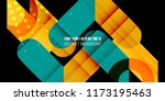 abstract colorful background... | Shutterstock .eps vector #1173195463