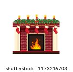 new year's traditional... | Shutterstock .eps vector #1173216703