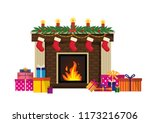 new year's traditional... | Shutterstock .eps vector #1173216706