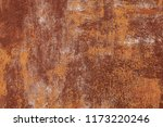 grunge rusted metal texture.... | Shutterstock . vector #1173220246