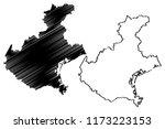 veneto  autonomous region of... | Shutterstock .eps vector #1173223153