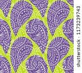 seamless pattern of beautiful... | Shutterstock .eps vector #1173239743