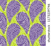 seamless pattern of beautiful... | Shutterstock . vector #1173239746