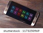 kazan  russian federation   aug ...   Shutterstock . vector #1173250969