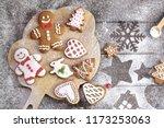 Christmas Cookies Of Various...