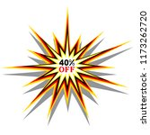 40  discount sticker offer... | Shutterstock .eps vector #1173262720