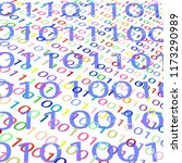 background from the binary code ... | Shutterstock .eps vector #1173290989