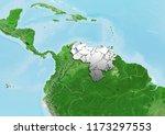 venezuela breaks into pieces on ... | Shutterstock . vector #1173297553