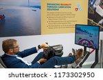 hamburg   germany   09 05 2018  ... | Shutterstock . vector #1173302950