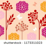 decorative composition with...   Shutterstock .eps vector #1173311023