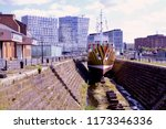 the dazzle ship  a monument to... | Shutterstock . vector #1173346336