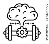 brain power. brain exercise | Shutterstock .eps vector #1173347779
