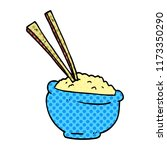 cartoon doodle tasty bowl of... | Shutterstock .eps vector #1173350290