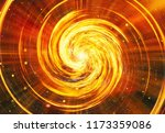 fire flash on space stars... | Shutterstock . vector #1173359086