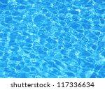 Swimming Pool Water. Aqua...
